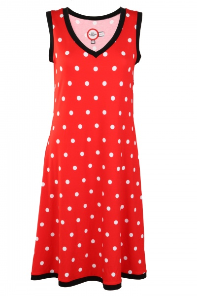 fc4edc9e Rød kjole