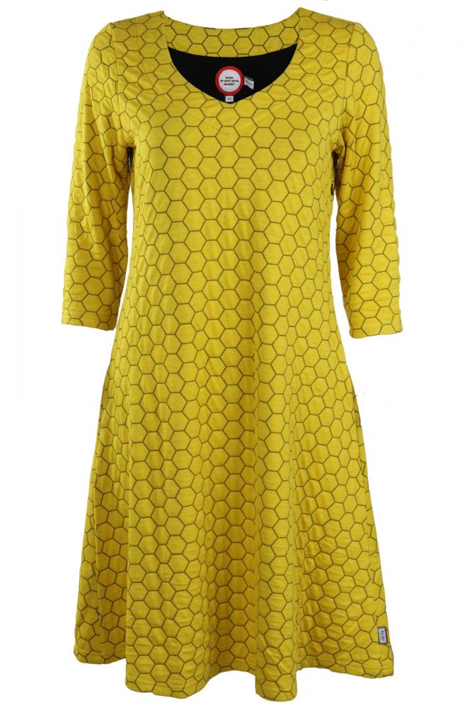 4b321653 Gul kjole
