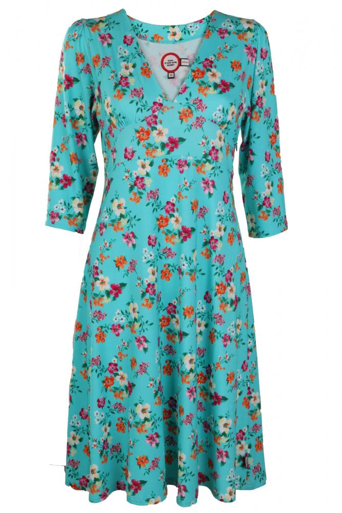 Ko Turquoise From ko Floral Birna Dress I86I7
